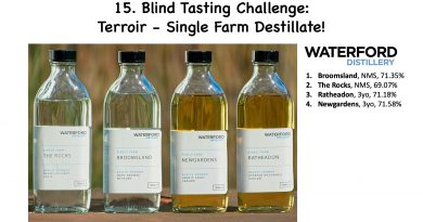 Blind Tasting Challenge - Waterford Single Farm