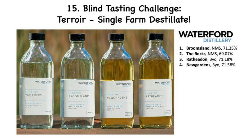 15. Blind Tasting Challenge: Terroir – Waterford Single Farm Destillate