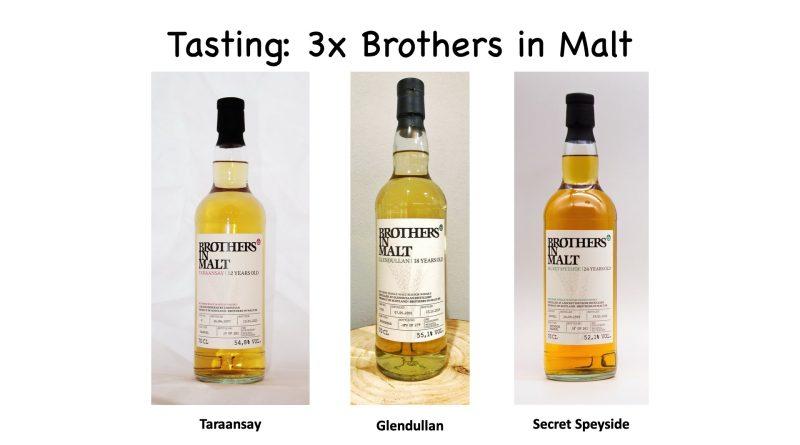 Tasting: Brothers in Malt Secret Speyside, Taraansay und Glendullan