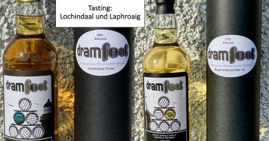 Tasting Dramfool Lochindaal Laphroaig