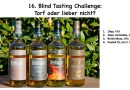 Blind Tasting Challenge BenRiach