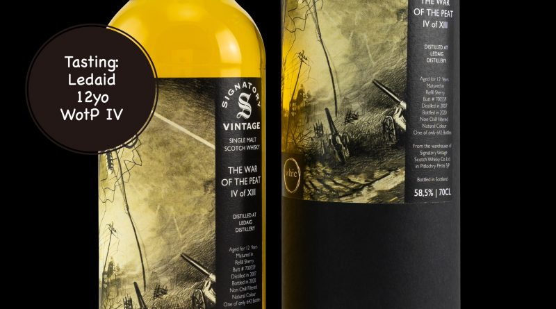 Tasting: Ledaig 12yo, whic The War of the Peat IV of XIII