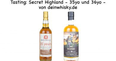 Tasting Highland Secret 35yo