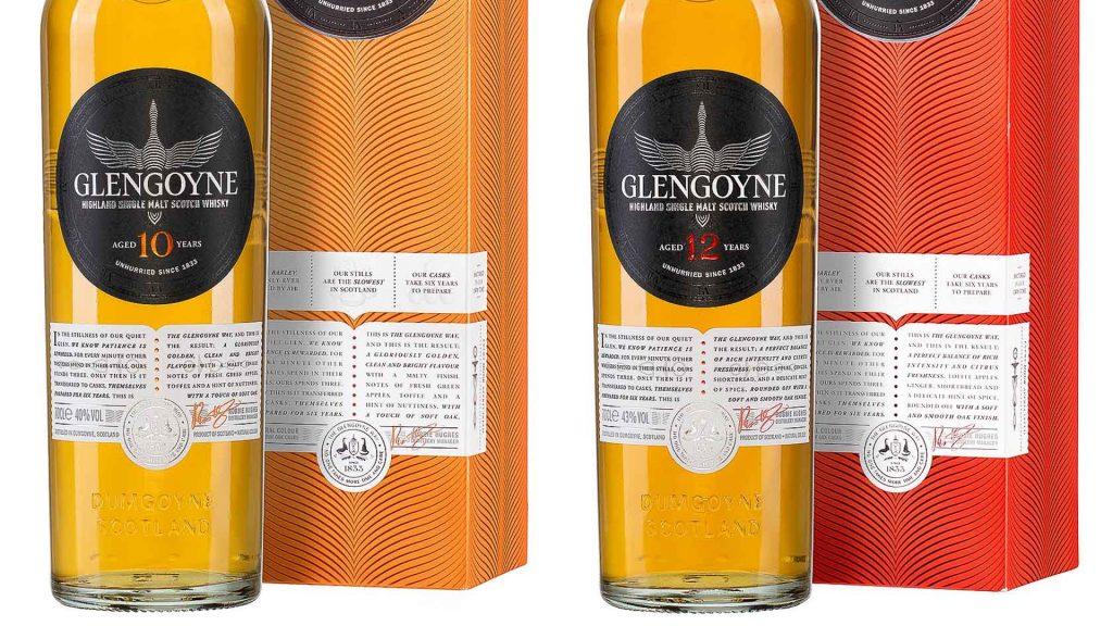 Glengoyne Marken Relaunch - Labels im Detail