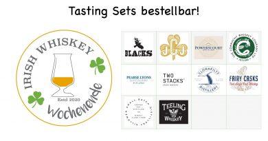 Irish Whiskey Weekend Tasting Set
