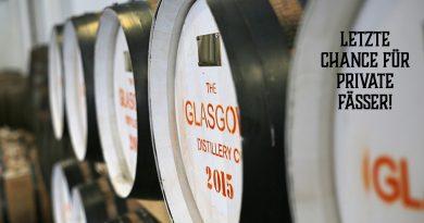Glasgow Distillery Casks - letzte Fässer für Privatpersonen