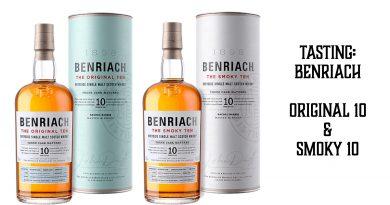 Benriach Original 10 vs. Benriach Smoky 10