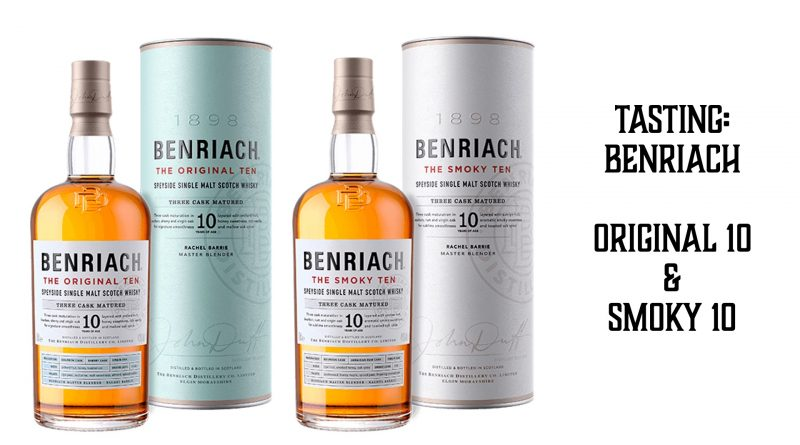 Benriach Original 10 vs. Benriach Smoky 10