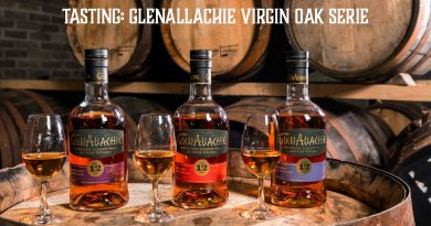 Tasting Glenallachie Virgin Oak Series