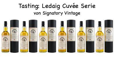 Tasting: Ledaig Cuvée Serie von Signatory