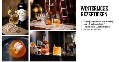 Cocktails mit Whiskey oder Whisky