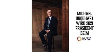Michael Urquhart wird 2021 Präsident bei der IWSC