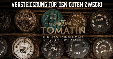 Versteigerung von Tomatin - Auktion für den guten Zweck