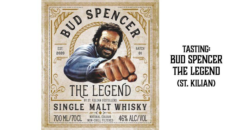 Tasting Bud Spencer Whisky St. Kilian