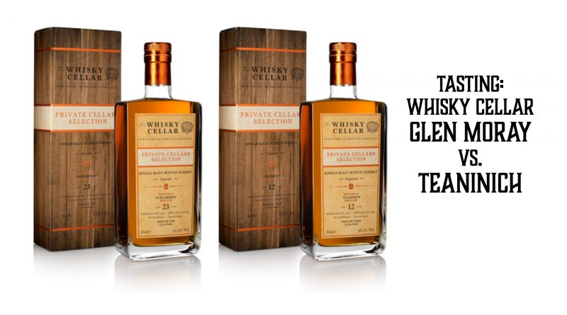 Tasting Whisky Cellar Glen Moray vs. Teaninich