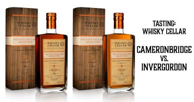 Tasting Whisky Cellar Cameronbridge vs. Invergordon