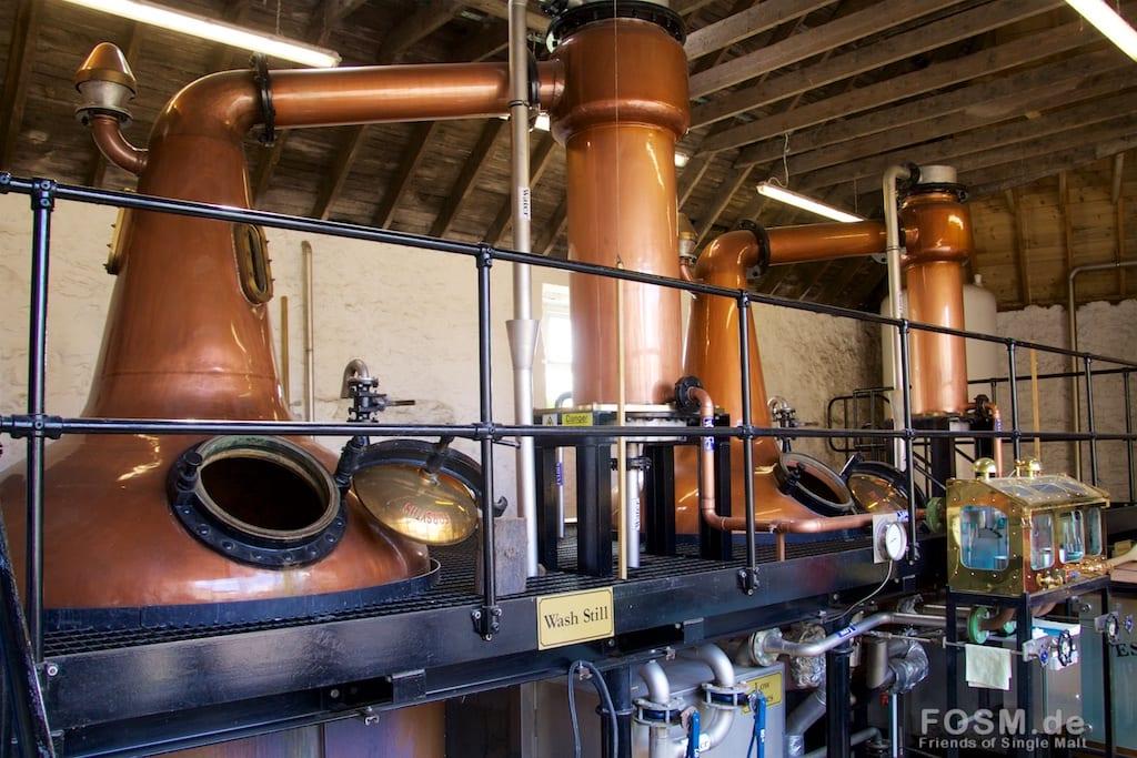 Daftmill - Produktionshalle