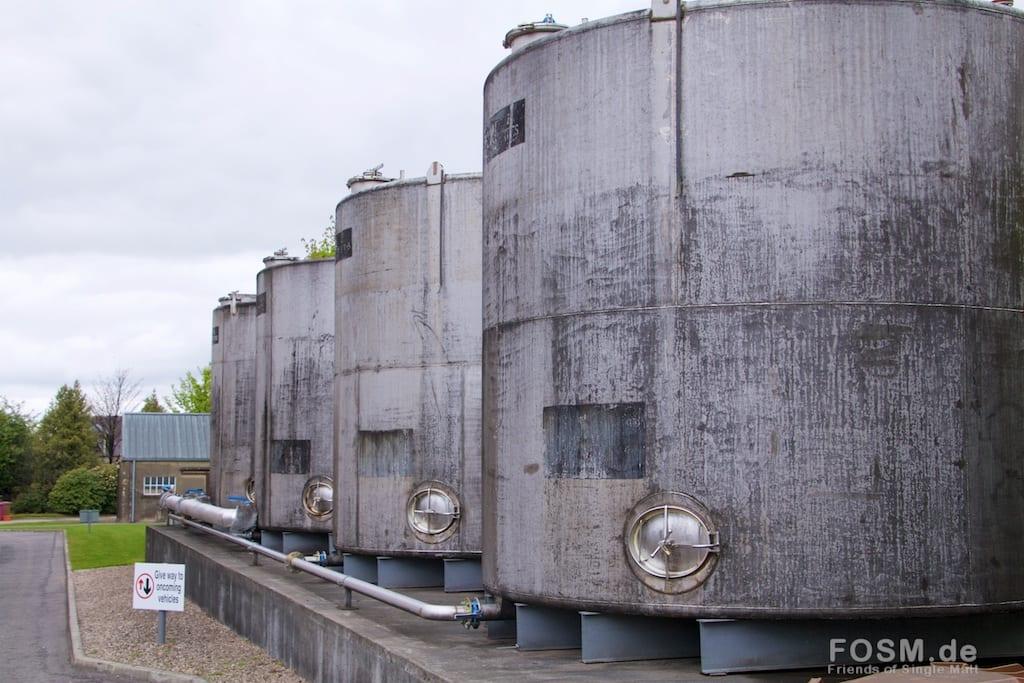 Longmorn - Wassertanks