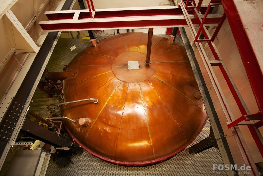 Ardmore Distillery  - Mash Tun