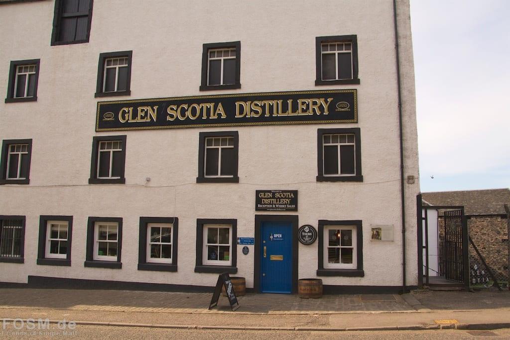 Glen Scotia - Visitorcenter von außen