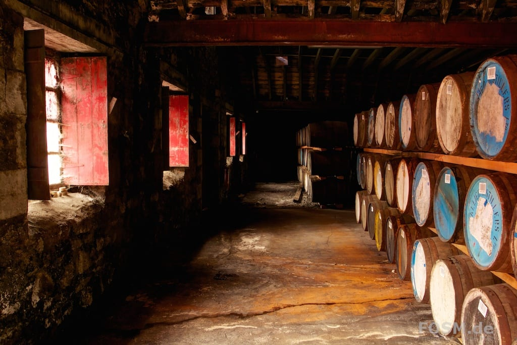 Ardmore Distillery - Warehouse 3