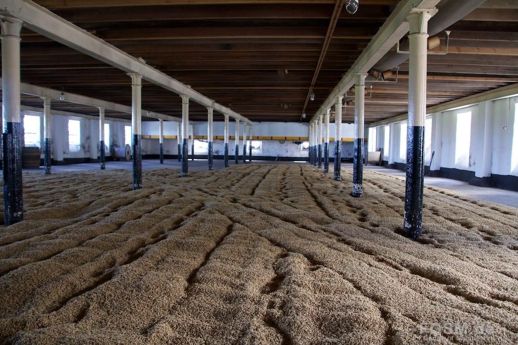 BenRiach - Malting Floor