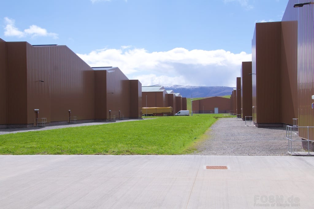 Macallan - Lagerhäuser