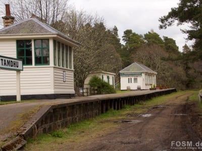 Tamdhu Bahnhof