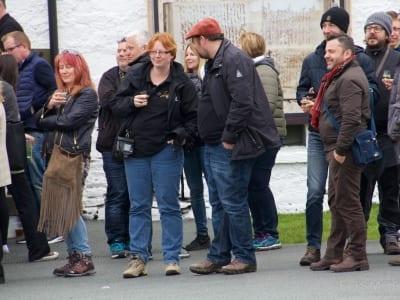 Blogger unter sich - ganz in rot