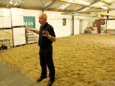 Kilchoman Distillery - Maltings mit John McLellan