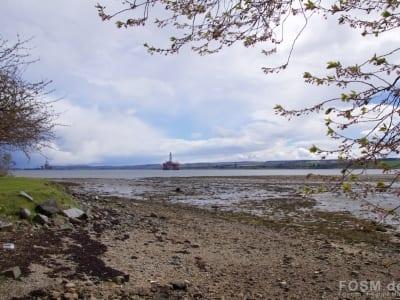 Blick Cromarty Firth - nördlich