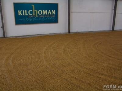 Kilchoman - Malzboden