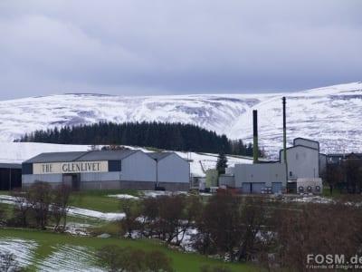 Glenlivet im Schnee