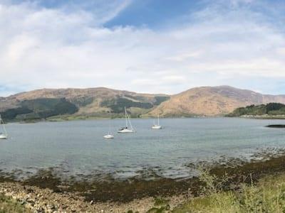 Bucht entlang der A816