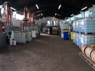 Glasgow Distillery - Produktionshalle