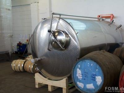 Glasgow Distillery - Washback und Fässer