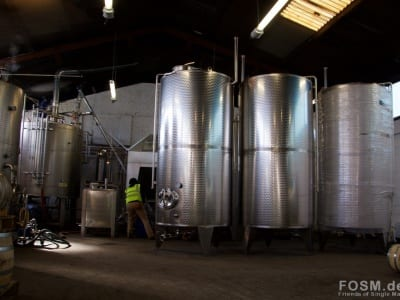 Glasgow Distillery - Washbacks