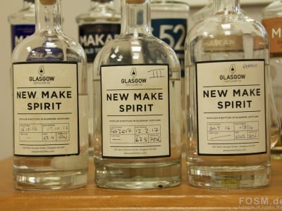 Glasgow Distillery - New Make Spirit x3
