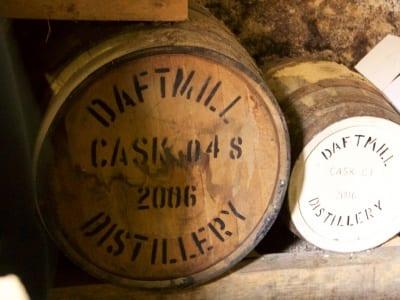 Daftmill - erstes Fass