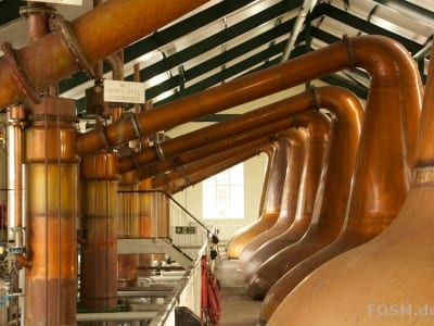Ardmore Distillery - Stills