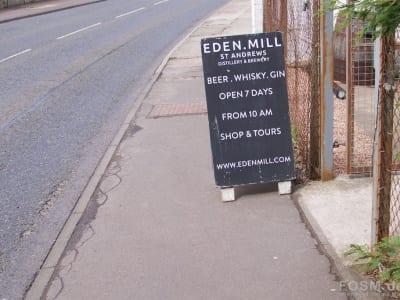 Eden Mill - Straßenschild