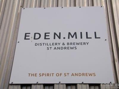 Eden Mill - Eingangsschild