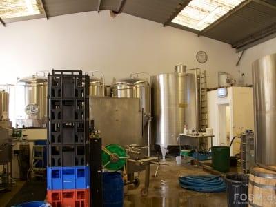 Eden Mill - Produktionshalle