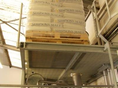 Eden Mill - Malt Zufuhr