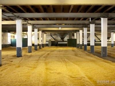 Laphroaig Distillery - Mälzboden