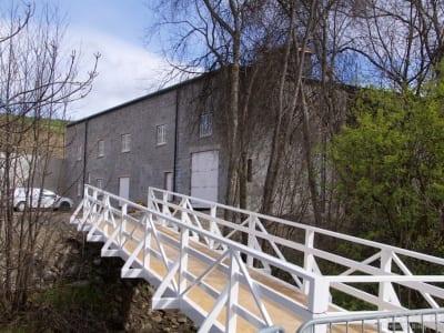 Neue Brücke mit Blick auf Edradour II