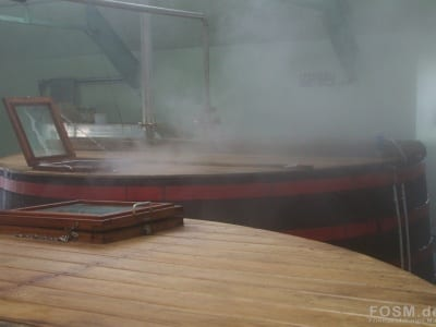 Balmenach - Washback unter Dampf