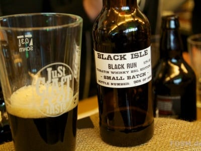 Black Run von Black Isles - Whiskyfass Tomatin