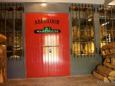 Aberlour - Warehouse No. 1 - Vorraum