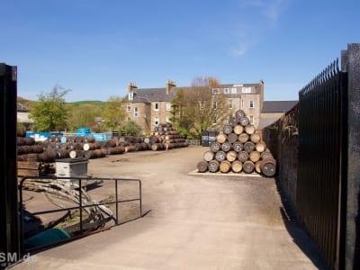 Glengyle - der Weg über das Betriebsgelände